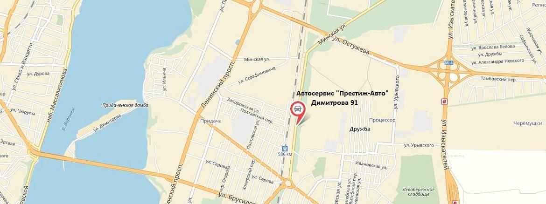 Мы на карте Воронежа