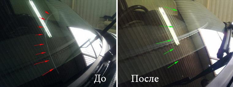 Полировка стекол автомобиля своими руками фото